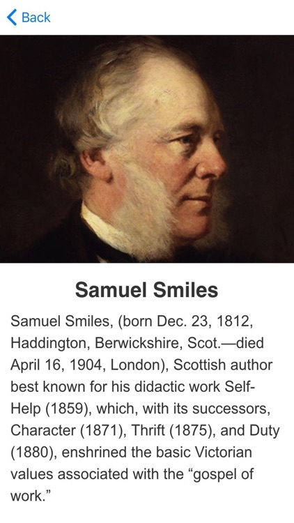 Self Help Meditations by Samuel Smiles screenshot-2