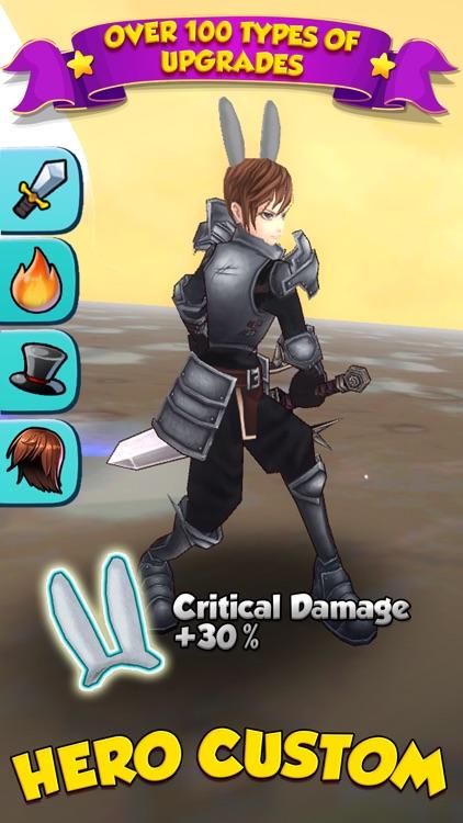Billion Hunter - Casual Monster Clicker RPG screenshot-3