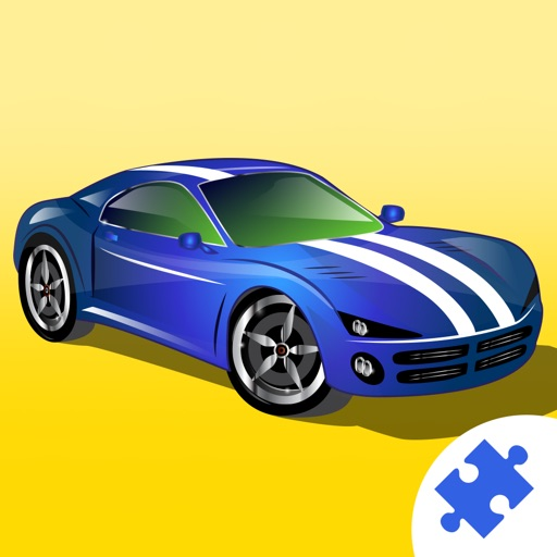 Sports Cars & Monster Trucks Jigsaw Puzzles : free logic game for toddlers, preschool kids and little boys