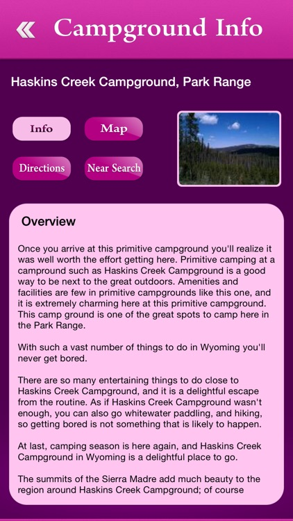 Wyoming Campgrounds and RV Parks