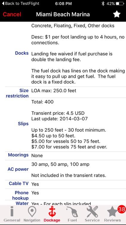 Florida GPS Nautical charts screenshot-3