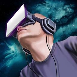 Helmet Virtual Real 3D Prank