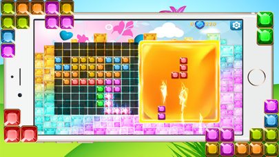 Diamond Block Launcher Legend - Jewel and Torrid Blaze of