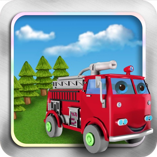 Fight Fires:Rush Hour-Fire Truck Games For Kids:Traffic Jam HD!