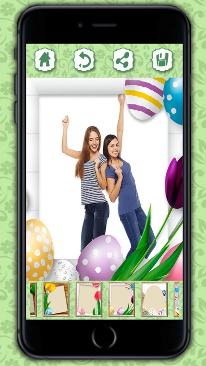 Photo editor of Easter Raster - camera to collage holiday pictures in frames screenshot-4