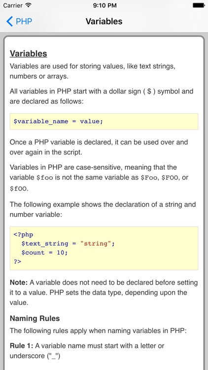 PHP Pro FREE screenshot-3