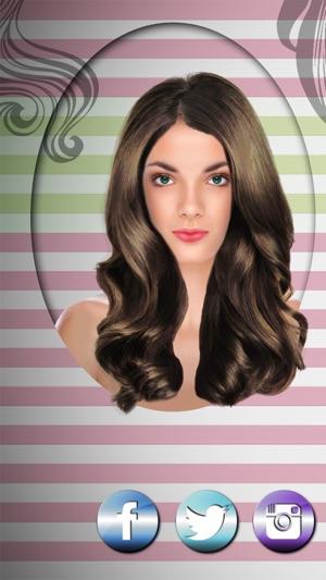 Simulation coupe de cheveux sur ipad