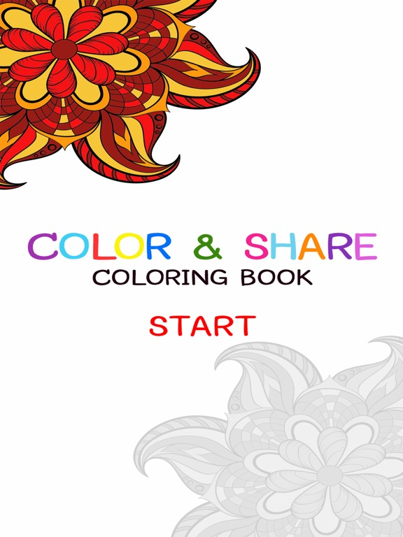 Screenshot 1 For Adult Coloring Book