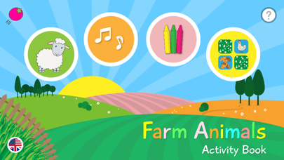 Farm Animals - Activity Book - Lite