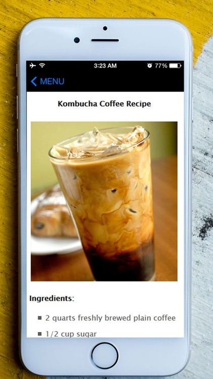 Easy Kombucha Tea - Best Guide To Start Kombucha Health Brewing For Beginners screenshot-3