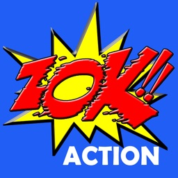 ZOK - Comic Book Action Stickers