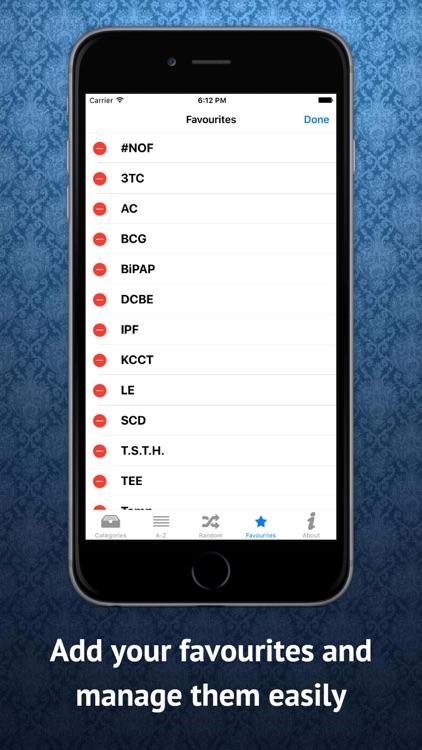 Medical Abbreviations English screenshot-3