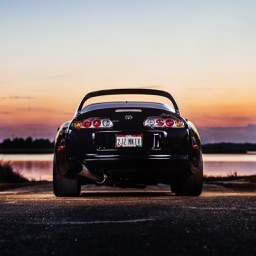 HD Car Wallpapers - Toyota Supra Edition