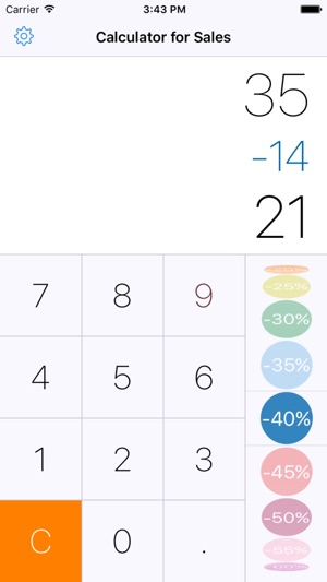 calculator for sales discount calculator on the app store