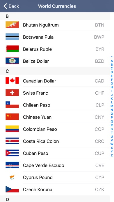 Screenshot 4 For Converter Pro Unit Currency Conversion Calculator