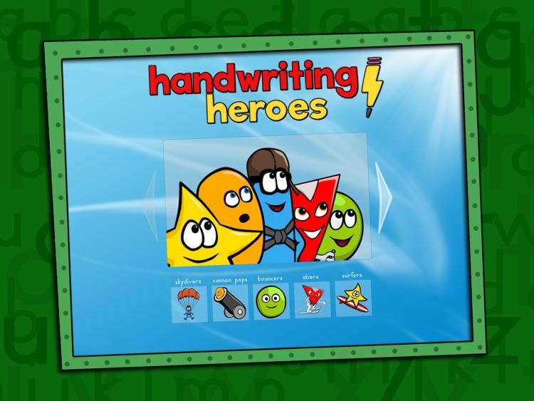 Handwriting Heroes screenshot-0