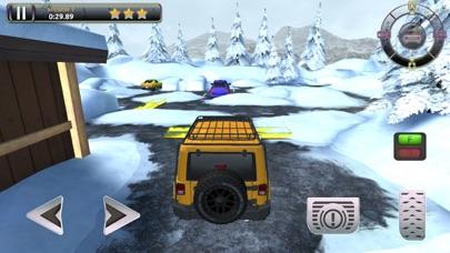 Snow Truck Parking - Extreme Off-Road Winter Driving Simulator FREEのおすすめ画像5