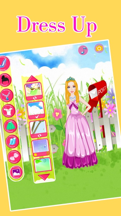 Flower Fairy Hairstyles Dress Up - Wedding -Princess screenshot four