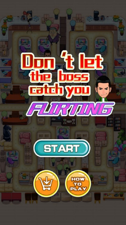 Dont Let The Boss Catch You Flirting (a get a date game)