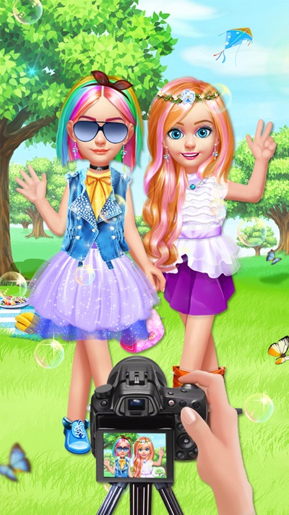 Kids Hair Salon - Hairstyles Maker & Dress up screenshot-4