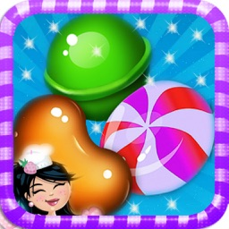 Link Candy Mania : Candy World Match-3