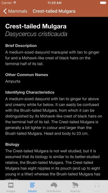 Field Guide to South Australian Fauna screenshot-3