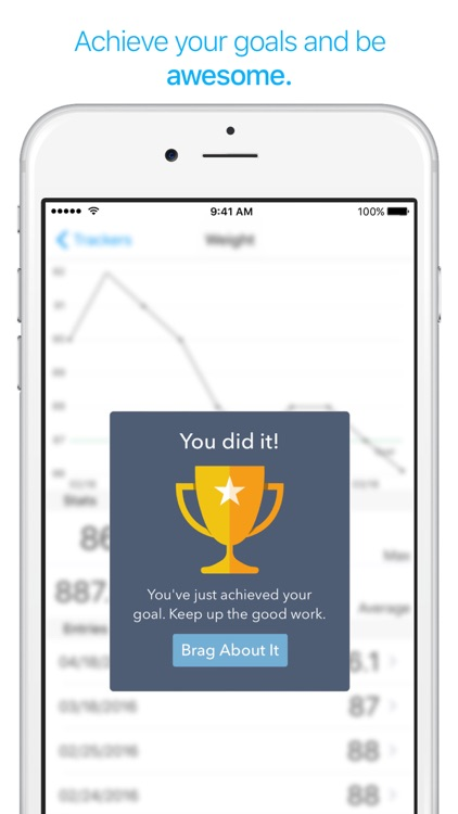 TracKit - Track weight, expenses, exercise & more screenshot-3