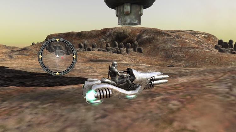 Hovercraft 3D Adventure - Adrenaline Hover Bike Dirt Driving Simulator screenshot-4