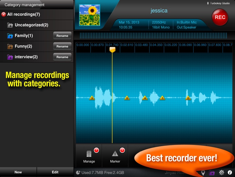 Recorder Plus HD screenshot-3