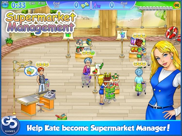 Supermarket Management HD (Full) screenshot-0