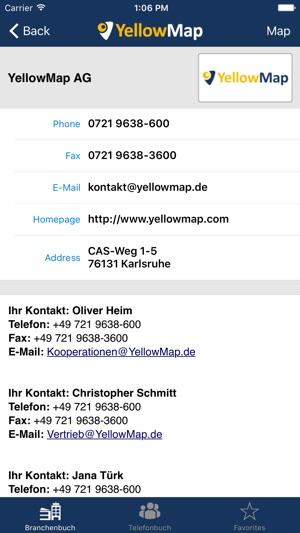 YellowMap im App Store  YellowMap im Ap...