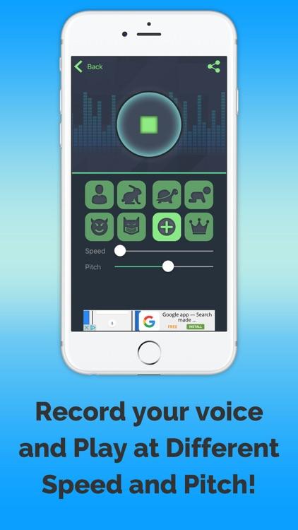 VoiceChange-universal screenshot-3