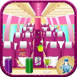 Airplane Wash Salon Cleaning & Washing Simulator