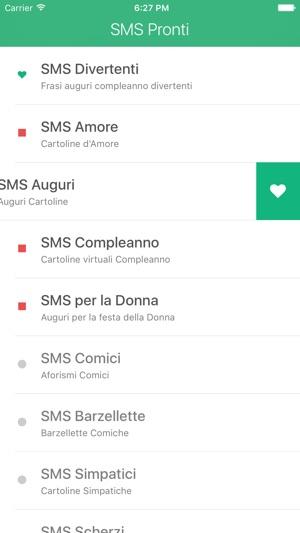 Sms Pronti E Frasi Auguri Compleanno E D Amore Su App Store
