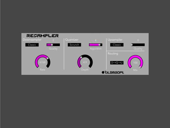Resampler Bitcrusher Screenshots