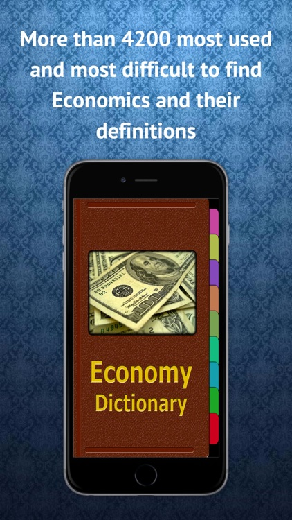 Economics Terms Dictionary