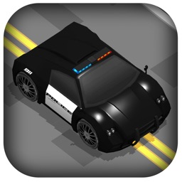 3D Zig-Zag Police Car -  Fast Hunting Mosted Super Wanted Racer Game