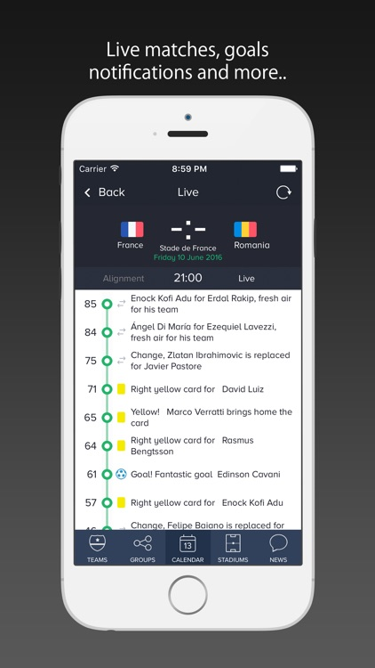 France 2016 Pro / Scores for Euro Cup - Euro 2016 screenshot-1