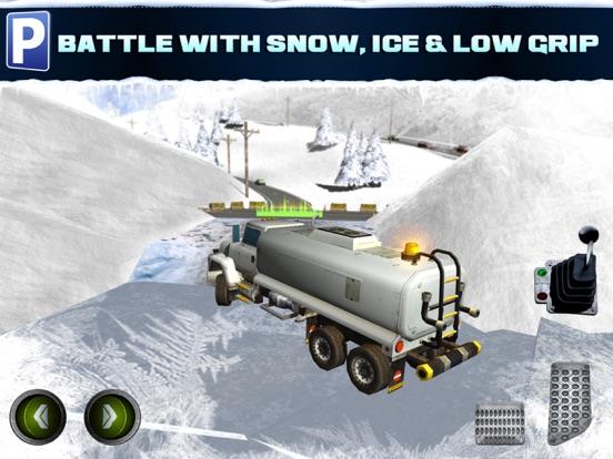 Скачать игру Ice Road Trucker Parking Simulator 2 АвтомобильГонки ИгрыБесплатно