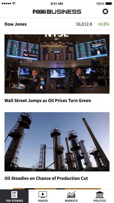 Fox Business review screenshots