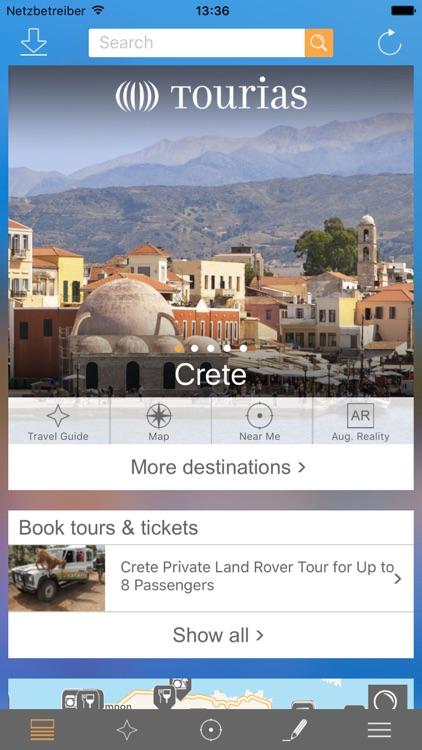 Crete Travel Guide - TOURIAS Travel Guide (free offline maps)