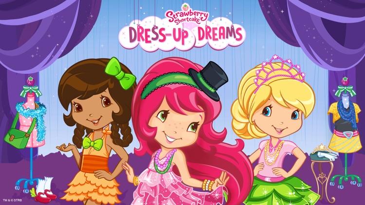 Strawberry Shortcake Dress Up Dreams screenshot-0