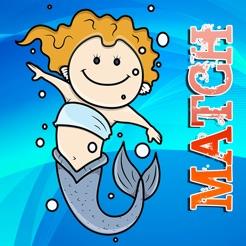 ücretsiz Eğlenceli Eşleştirme Kartları Oyunu Denizkızı App Storeda