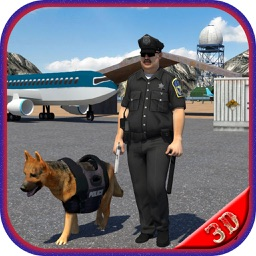 Airport Police Dog Duty