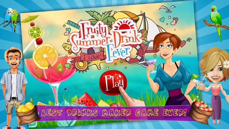 Fruity Summer Drink Fever - Play Free Fun Frozen Juicy Drink Maker Kids Game