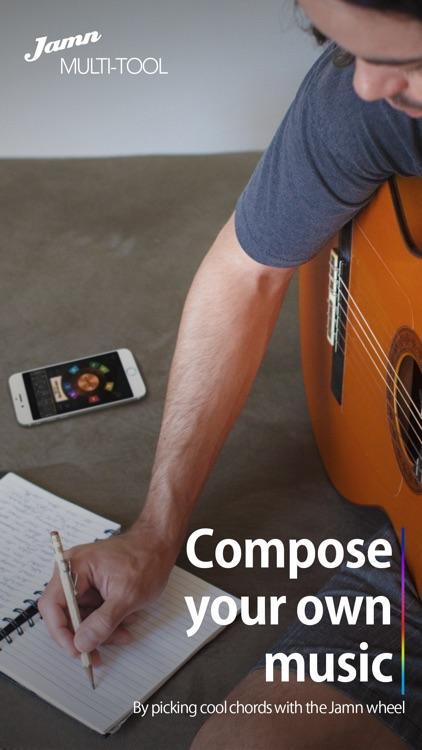 Jamn Multi-tool: Visualize music theory