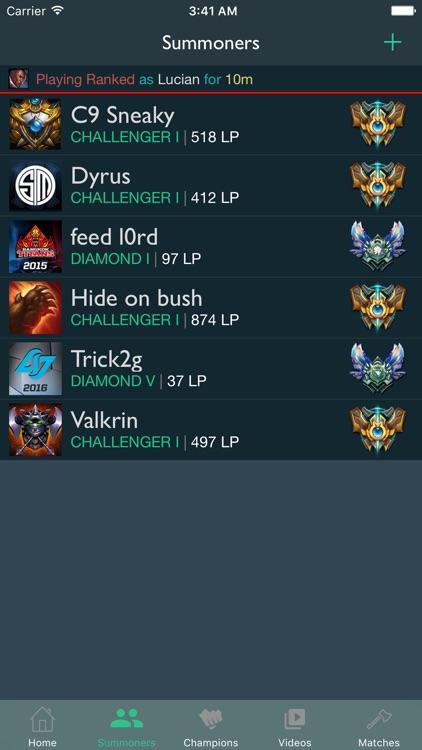 iLoL - Friends for League