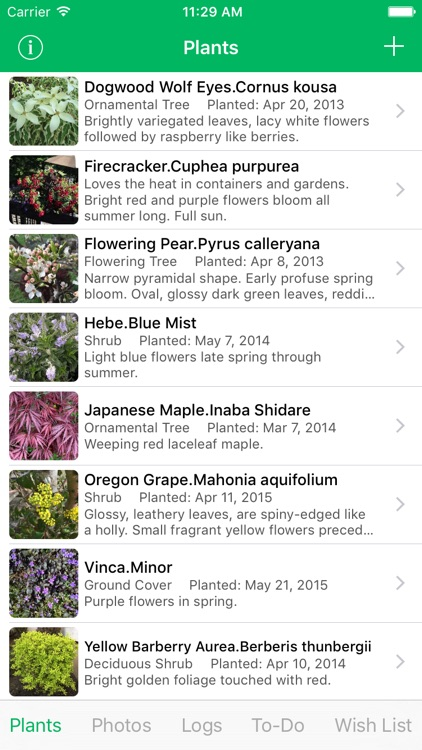 MyPlant Notebook - A Journal Just For Your Plants