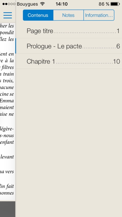 Chapitre ebooks screenshot-4