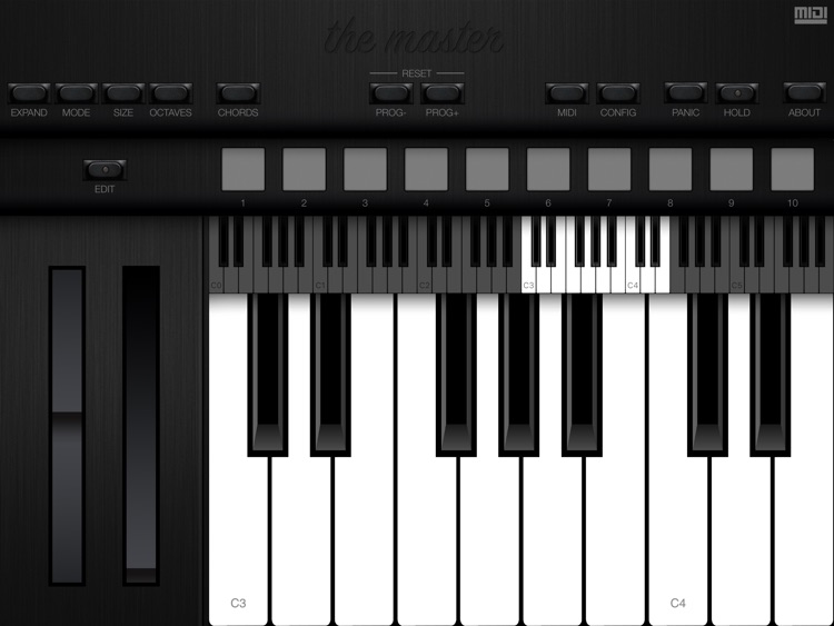 The Master MIDI Keyboard screenshot-0
